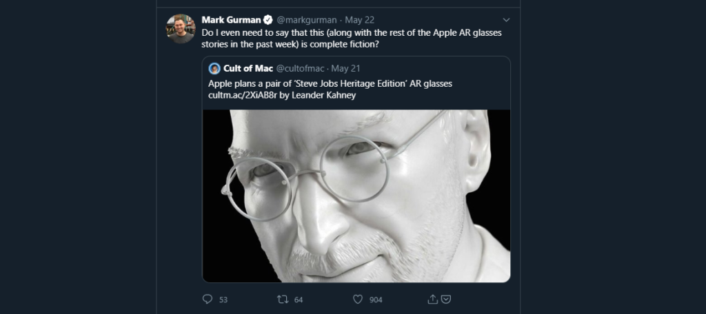 Mark Gurman twitter